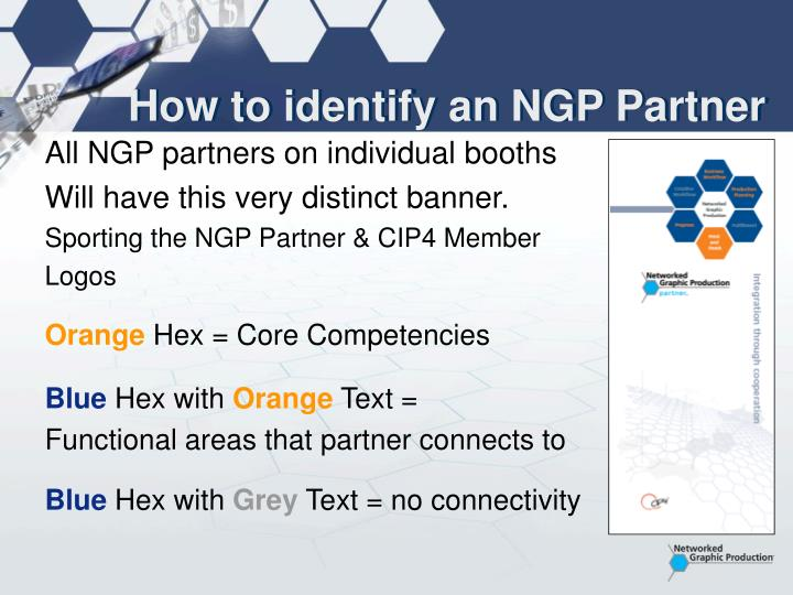 How to identify an NGP Partner