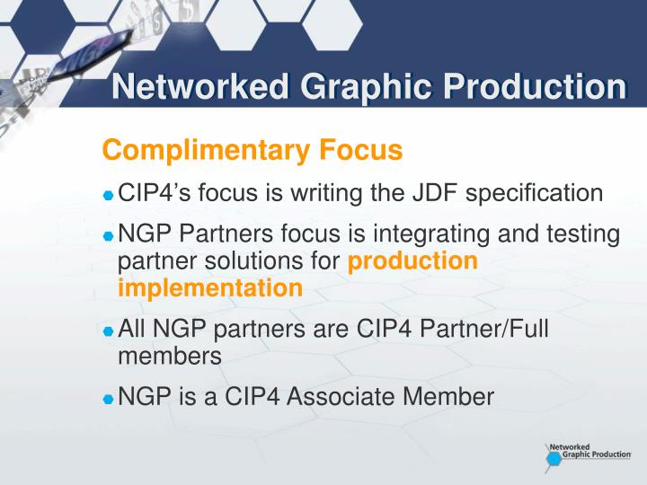Networked graphic production