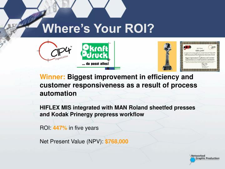 Where's Your ROI?