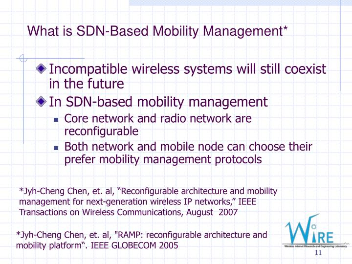 What is SDN-Based Mobility Management*