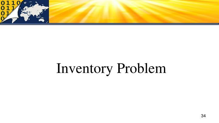 Inventory Problem