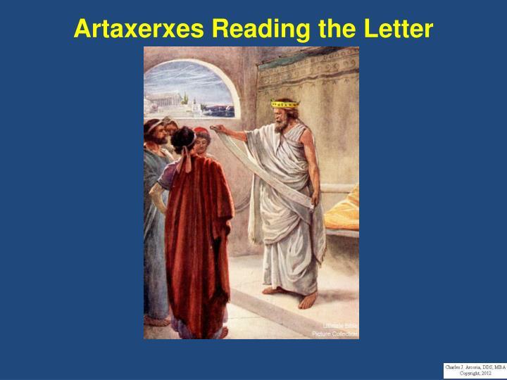 Artaxerxes Reading the Letter