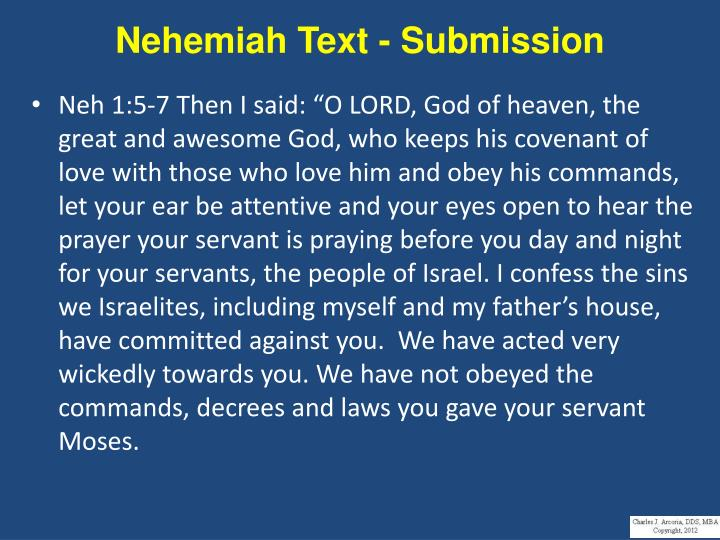 Nehemiah Text - Submission