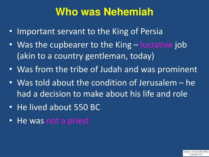 Who was Nehemiah