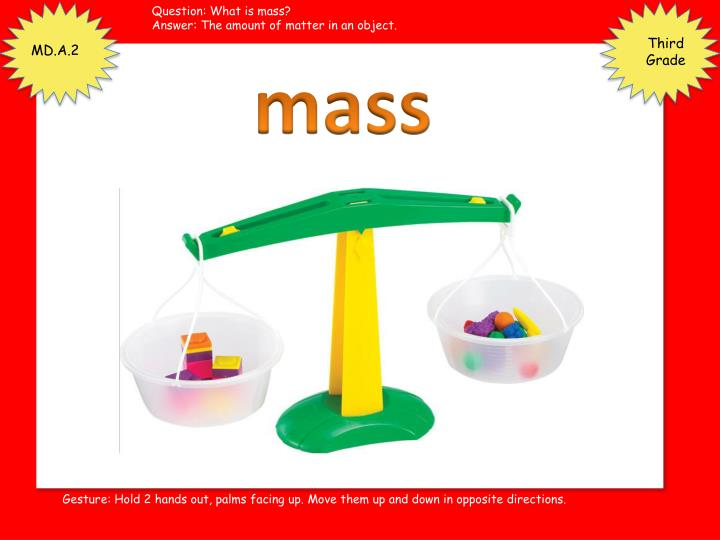 Question: What is mass?