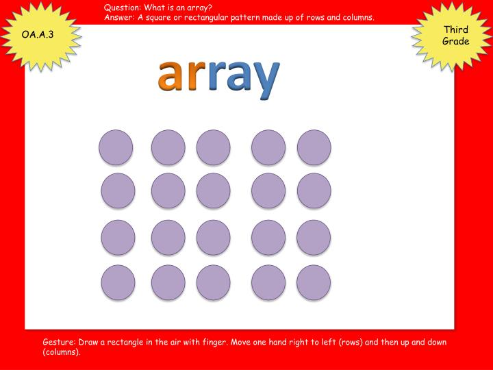 Question: What is an array?