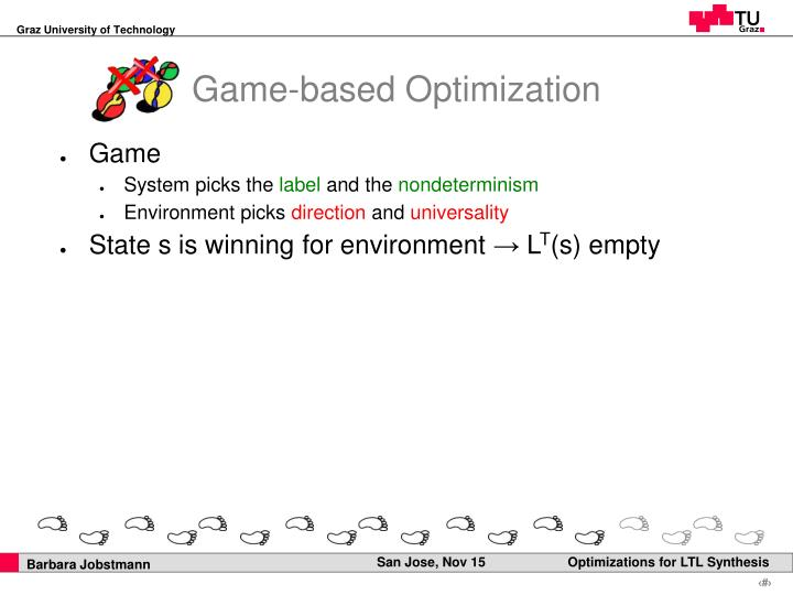 Game-based Optimization