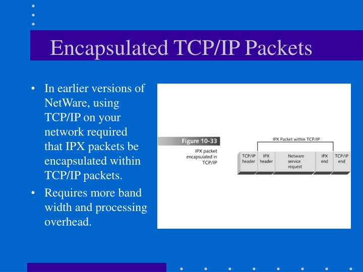Encapsulated TCP/IP Packets