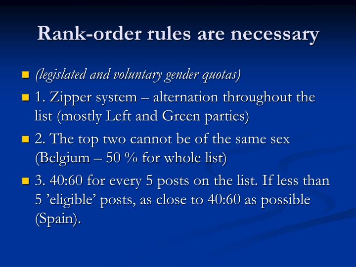 Rank-order rules are necessary