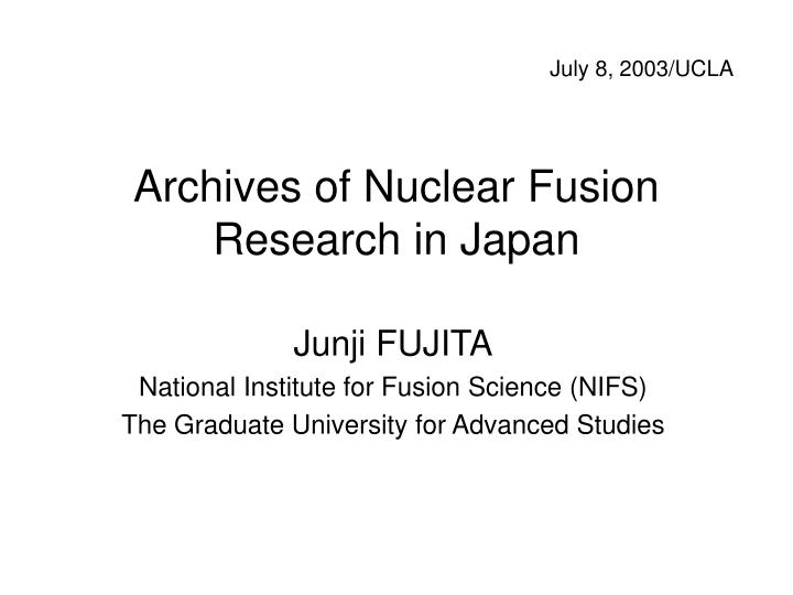 a study of nuclear fusion Master the concepts of nuclear fusion,nuclear fission,nuclear fusion reaction and nuclear fusion reactor with the help of study material for iit jee by askiitians.