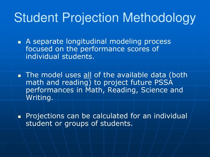 Student Projection Methodology