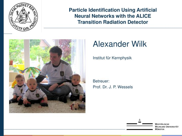 Particle Identification Using Artificial