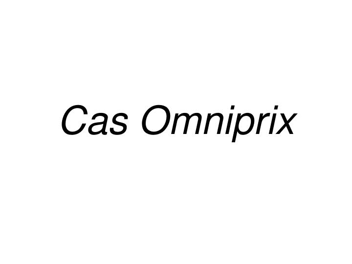Cas Omniprix