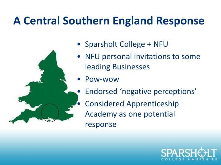 A Central Southern England Response