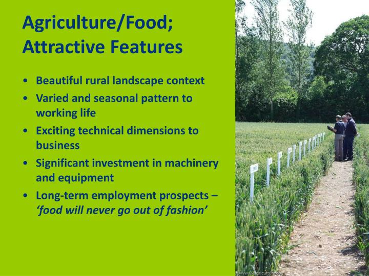 Agriculture/Food;