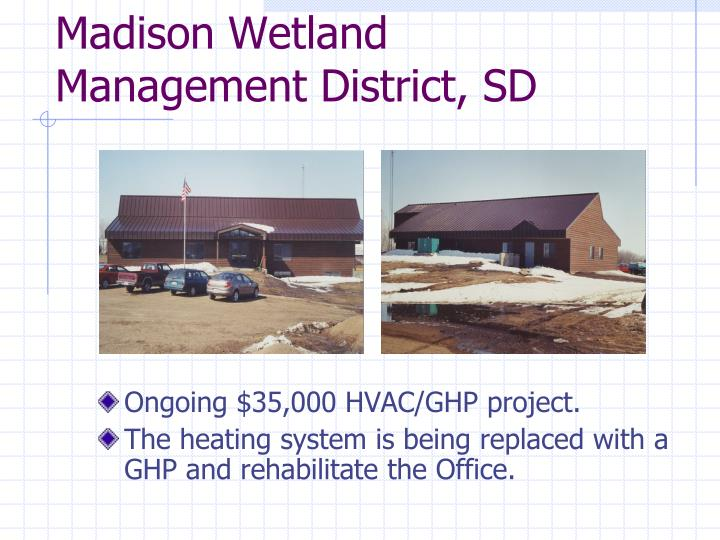 Madison Wetland Management District, SD