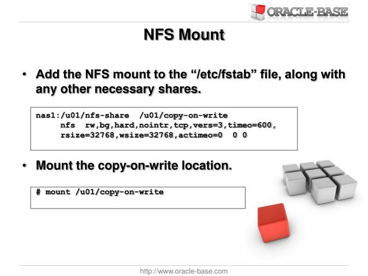 NFS Mount