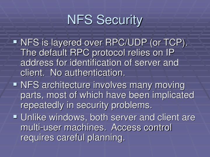 NFS Security