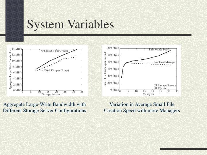 System Variables
