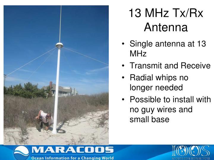 13 MHz Tx/Rx Antenna