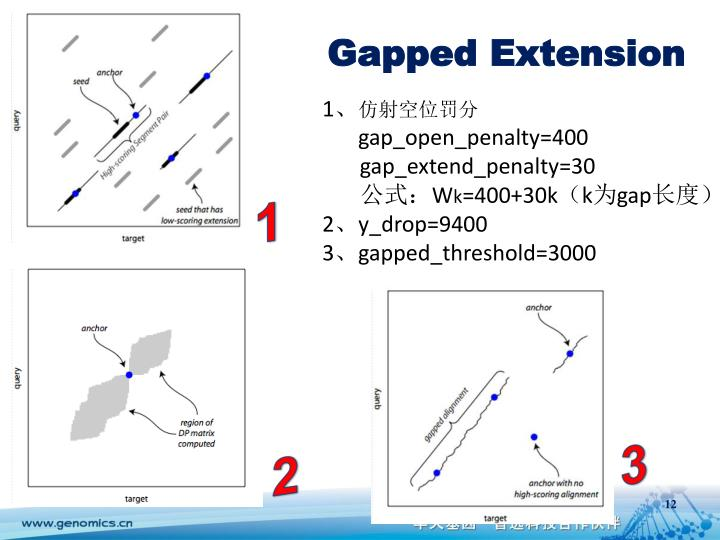 Gapped Extension