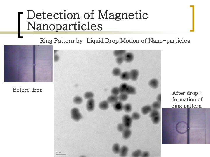 Detection of Magnetic Nanoparticles