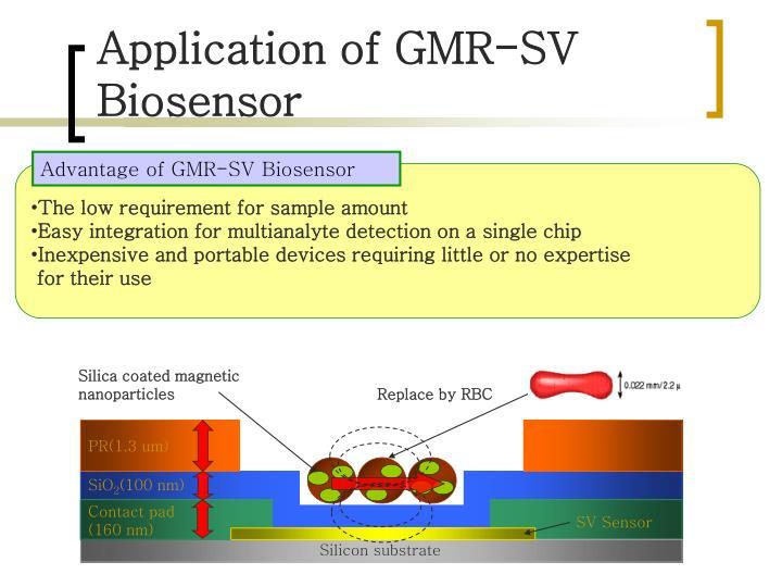 Advantage of GMR-SV Biosensor