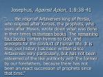 josephus against apion 1 8 38 411