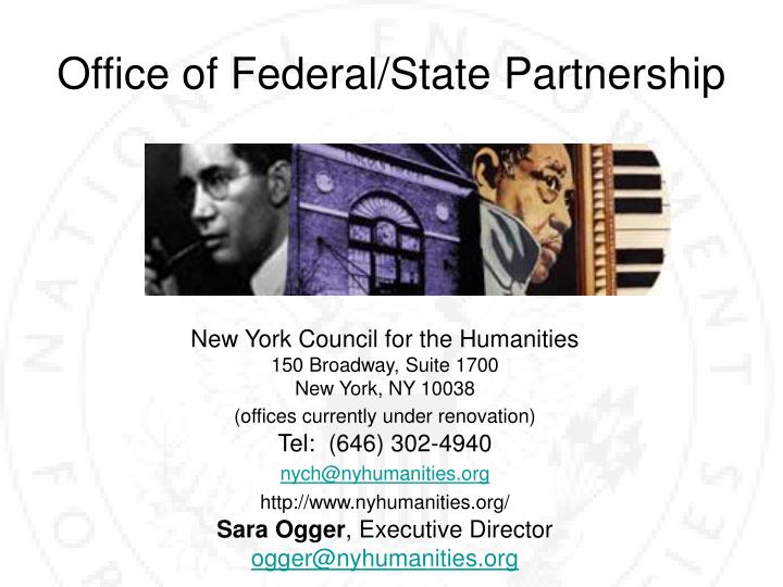 Office of Federal/State Partnership