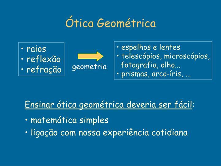 Ótica Geométrica