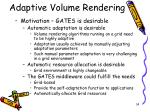 adaptive volume rendering1