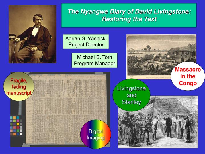 The Nyangwe Diary of David Livingstone: