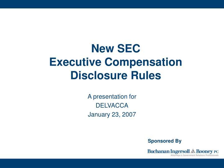 New SEC
