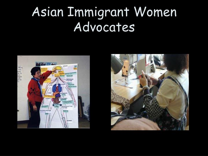 Asian Immigrant Women Advocates