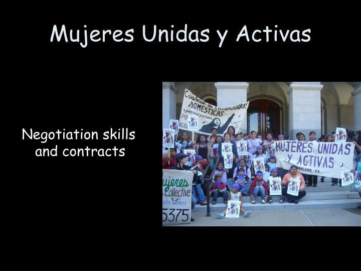 Mujeres Unidas y Activas