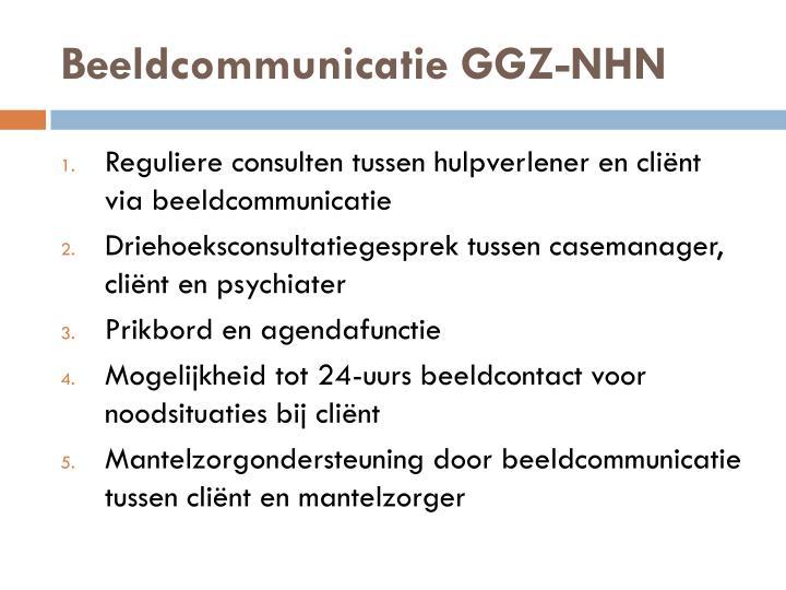 Beeldcommunicatie GGZ-NHN