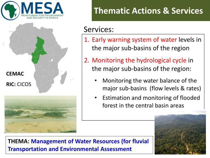 Thematic Actions & Services