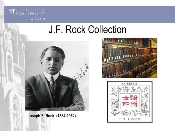 J.F. Rock Collection