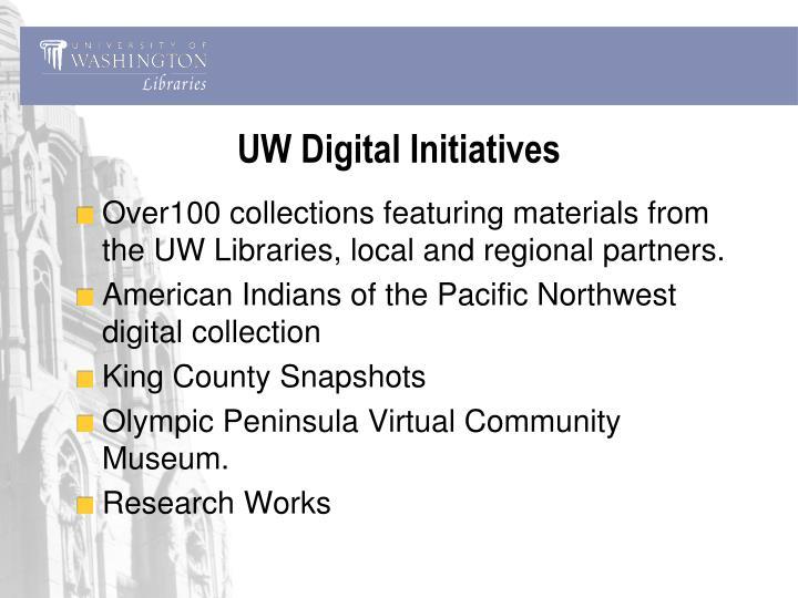 UW Digital Initiatives