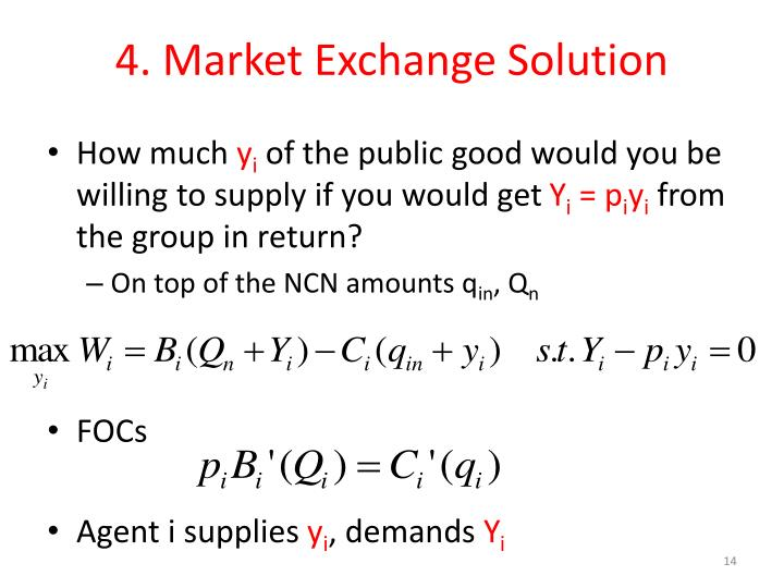 4. Market Exchange Solution