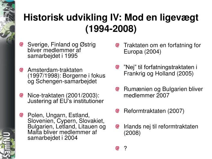 Sverige, Finland og Østrig bliver medlemmer af samarbejdet i 1995