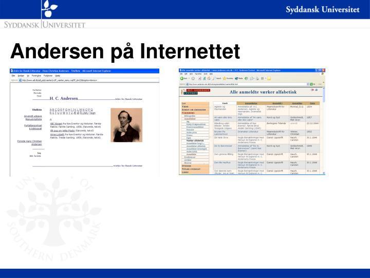 Andersen på Internettet