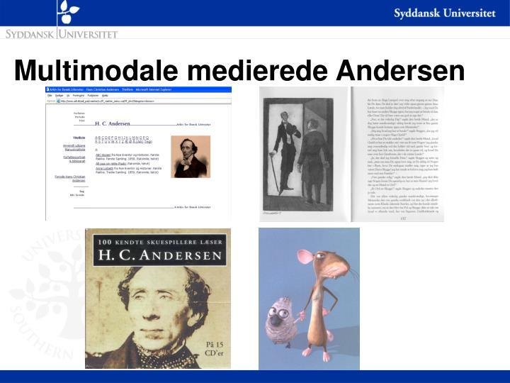 Multimodale medierede Andersen