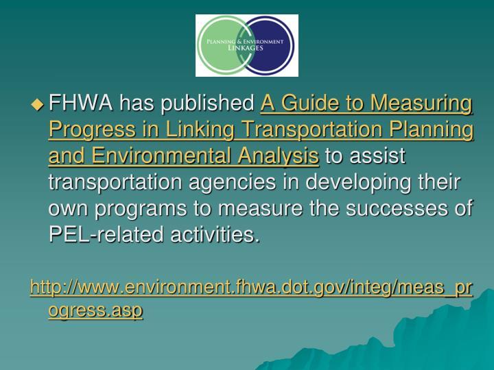 FHWA has published