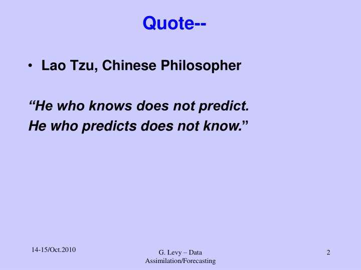 Quote--