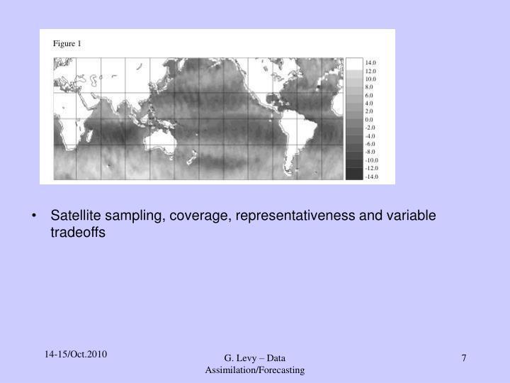 Satellite sampling, coverage, representativeness and variable tradeoffs