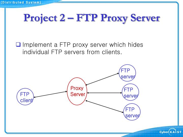Project 2 – FTP Proxy Server