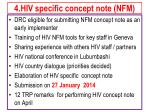 4 hiv specific concept note nfm
