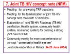 7 joint tb hiv concept note nfm