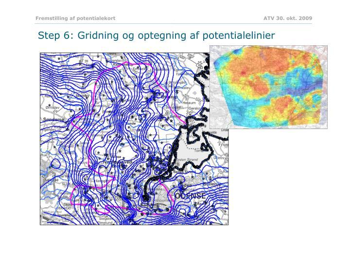 Fremstilling af potentialekort           ATV 30. okt. 2009